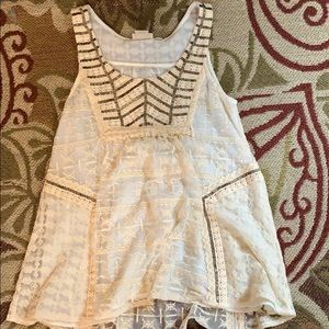 Never Worn Lace Tank